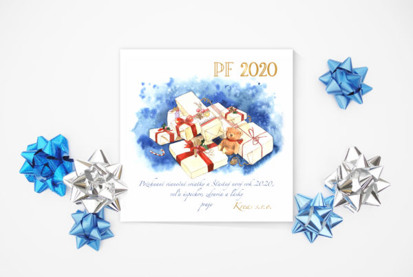 Vánoční pozdrav 14vp